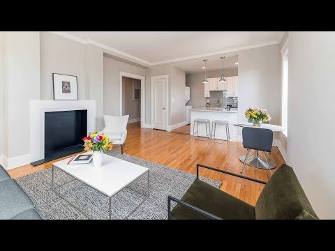 A Lincoln Park 1-bedroom model in a prime location fronting the park