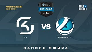 SK vs Luminosity - ESL Pro League S7 NA - de_cache [Godmint, SleepSomeWhile]