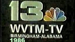 WVTM 13 (NBC) 1949 - 2011