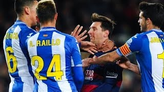 Messi Neymar Suarez - Fights & Angry Moments  HD