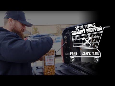 Seth Feroce Grocery Shopping Part 1 - Sam's Club