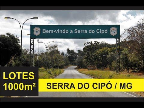 REGIÃO SERRA DO CIPÓ: Lotes de 1000m² em Jaboticatubas/MG