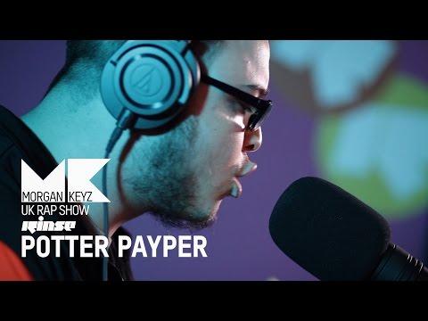 POTTER PAYPER | UK RAP SHOW FREESTYLE @RinseFM  @MorganKeyz @PotterPayper