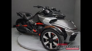 8. 2015  CAN AM  SPYDER F3-S SM6  - National Powersports Distributors