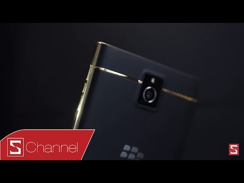 Blackberry Passport Gold Edition