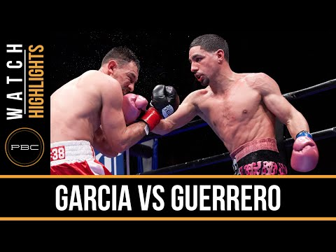 danny garcia vs robert guerrero - highlights
