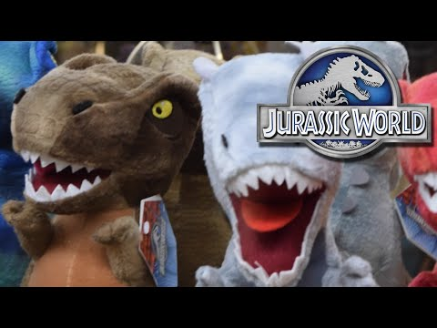 Jurassic World Grabber Machine PLUSHIES!!