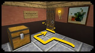 ✔ Minecraft: How to make a Secret Passage - Ep.10