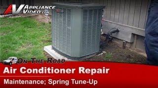 Video Central Air Conditioner Service Maintenance Spring tune & clean MP3, 3GP, MP4, WEBM, AVI, FLV Agustus 2018