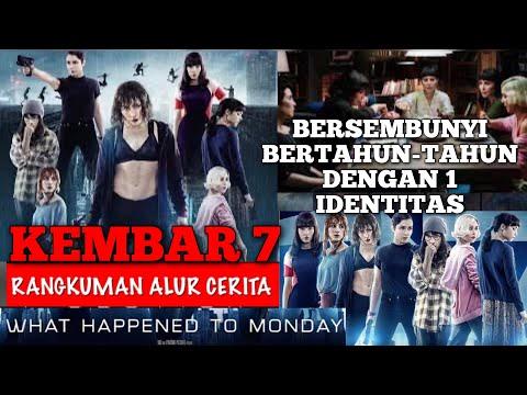 KEMBAR 7 BERSEMBUNYI BERTAHUN TAHUN DENGAN 1 IDENTITAS | Alur Cerita Film What Happend To Monday
