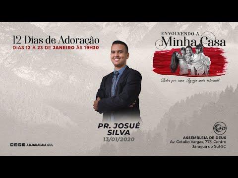 Pastor Josué Silva - Deixando Deus ser influência