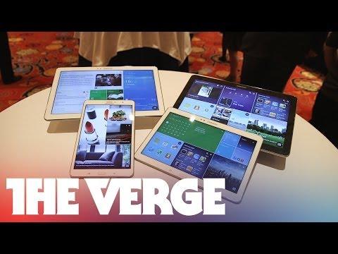 Novinky od Samsungu: několik tabletů, Galaxy Camera 2, televize a další na CES