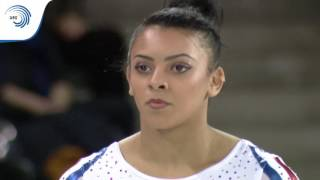 UEG Official – 7th European Men's and Women's Artistic Gymnastics Championships – Cluj Napoca (ROU), April 19-23, 2017. Elissa Downie (GBR), Qualifications Vault : 14.433 (Vault 1 : 14.566, Difficulty : 5.4, Execution : 9.166 ; Vault 2 : 14.300, Difficulty : 5.2, Execution : 9.100), Best qualification score.Follow the European Union of Gymnastics on its channels to stay up to date with their latest news!