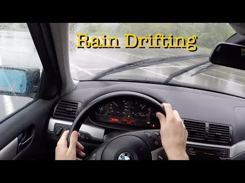 POV RainDrifting BMW E46 Turbo Diesel