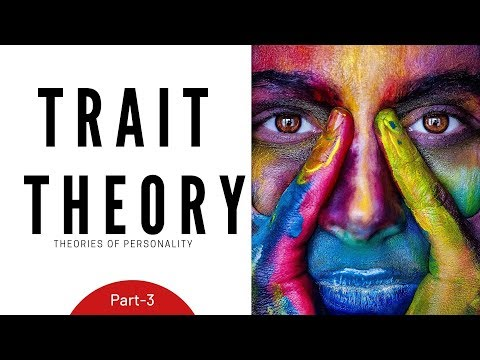 Theories Of Personality: Trait Theory- Part 3(Hindi)- M.COM, NET/SET