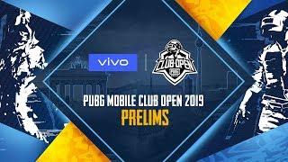 [EN] PMCO 2019 Prelims Day 1 | Vivo | PUBG MOBILE CLUB OPEN