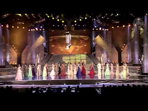 Eleccion Miss Venezuela 2013. Desfile Traje de Gala (1