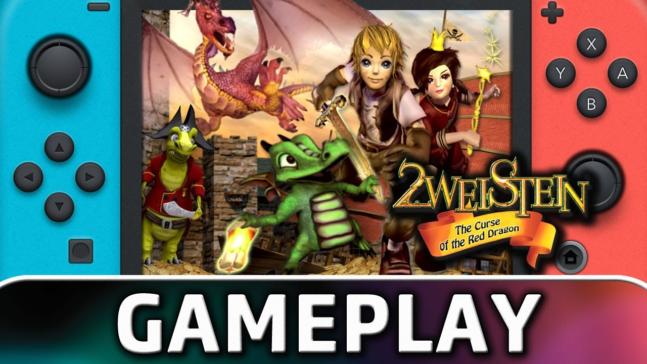 2weistein – The Curse of the Red Dragon   Nintendo Switch Gameplay