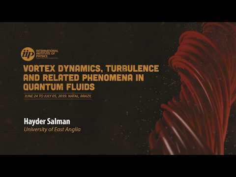 Detection of Solitons on Quantised Superfluid Vortices - Hayder Salman