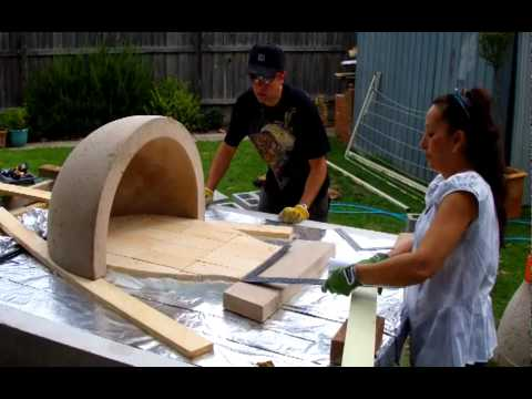 How to build your own pizza oven.