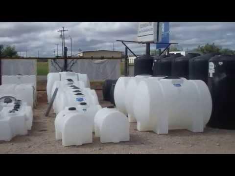 Plastic Storage Tanks at Sievers Poly Tanks - Texas   866-866-8611