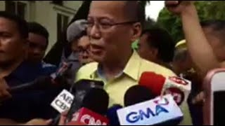 """Former President Benigno """"Noynoy"""" Aquino III said that the case of 17-year-old student, Kian Loyd delos Santos, who was killed during police operation, should be investigated to determine the circumstances surrounding the incident."""