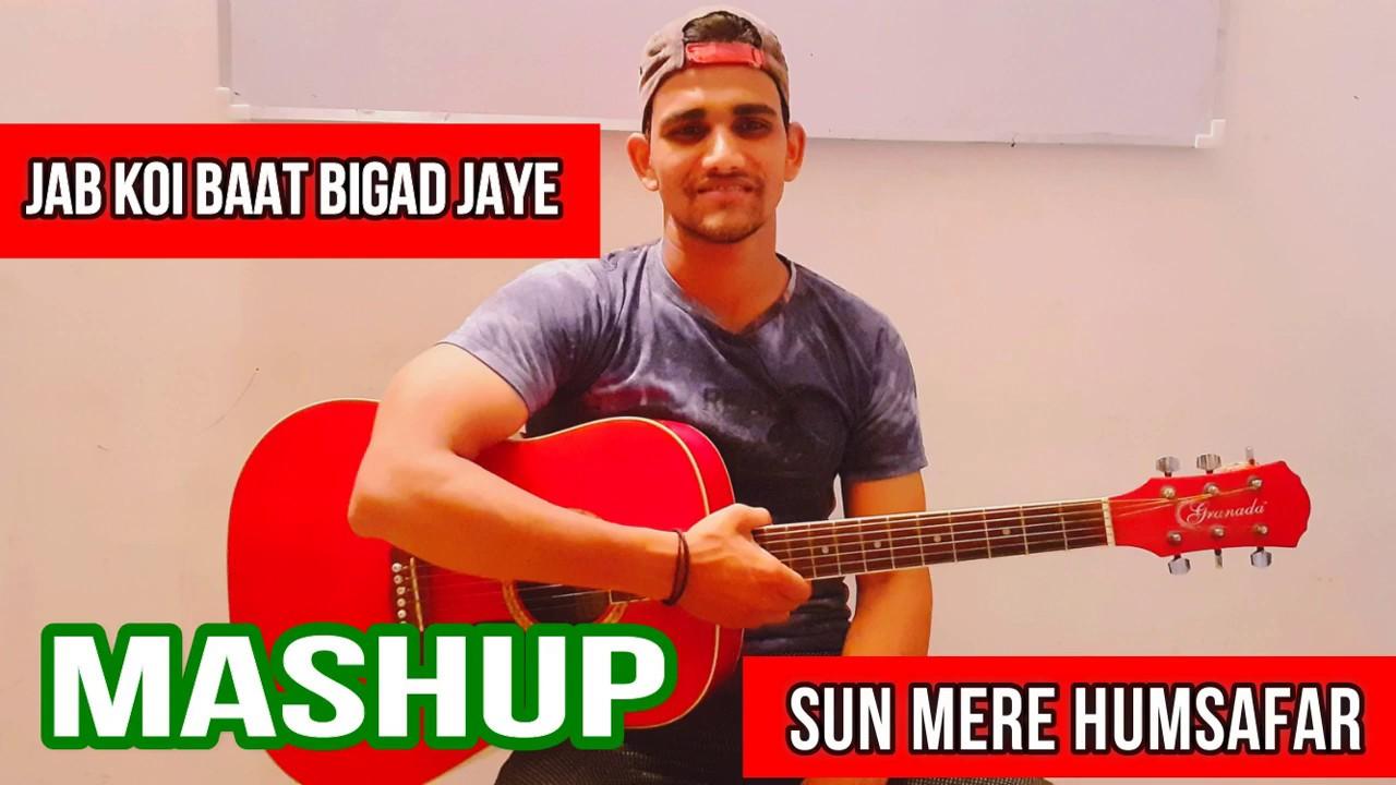 Mashup || Guitar Cover || Bollywood Songs || Sun mere Humsafar || Jab koi baat || Negi Rules