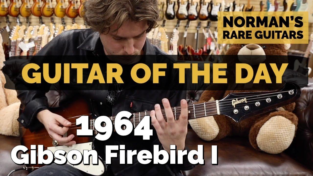 Guitar of the Day: 1964 Gibson Firebird I | Norman's Rare Guitars