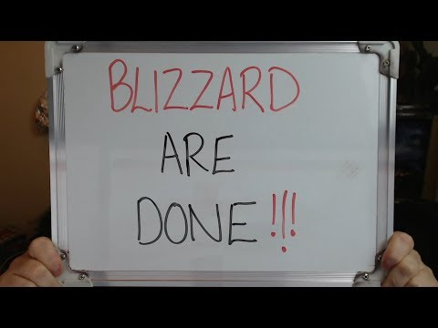 Blizzard are Done: Company Remains SILENT as Support Floods In!!