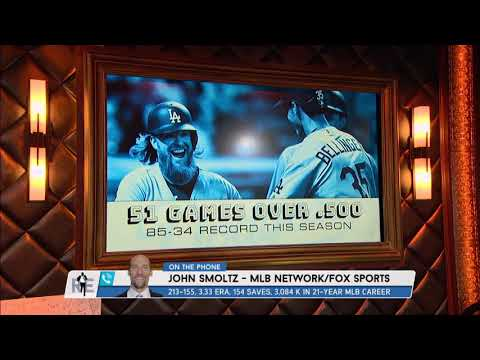 John Smoltz on Whether It's World Series or Bust for the Dodgers | The Rich Eisen Show | 8/17/17
