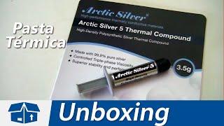 Unboxing de la pasta térmica Arctic Silver 5 de 3.5g con partículas de plata. Enviado por Amazon.com con un precio de $7 dolares.Características:Arctic Silver 5 fue fórmulada para conducir el calor, no la electricidad.Elaborada con 99.9 % de plata pura.Arctic Silver 5 utiliza tres formas y tamaños de partículas de plata pura únicas para maximizar el área de contacto de partícula a partícula y de transferencia térmica.◉ Video también disponible en: http://www.DAIZcorp.com/arctic-silver-5-unboxing-espanol/Redes Sociales: ◢ Twitter @UECenter: http://www.twitter.com/UECenter◢ Página de Facebook:http://www.facebook.com/UleadEstudioCenter◢ Página web: http://www.DAIZcorp.com___UECenter de DAIZcorp.