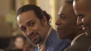 Video Original 'Hamilton' Cast Performs At White House For Obamas MP3, 3GP, MP4, WEBM, AVI, FLV Maret 2018