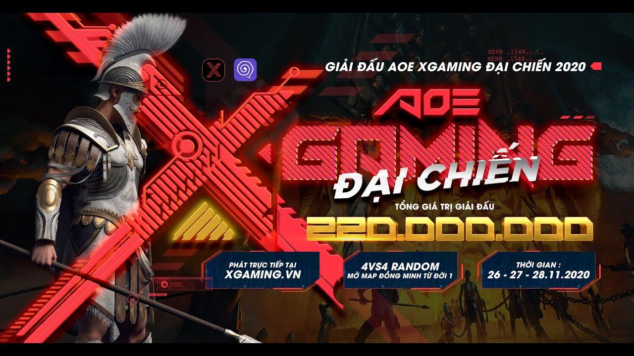 AoE Xgaming Đại Chiến 2020: Tung Trailer hé lộ giải đấu hấp dẫn với thể thức thi đấu mới