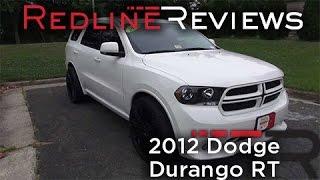 2012 Dodge Durango RT Walkaround, Exhaust, Review, Test Drive