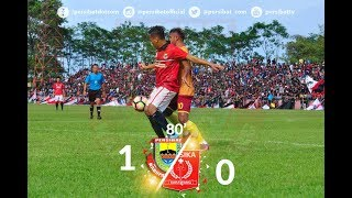 Highlight Persibat vs Persika