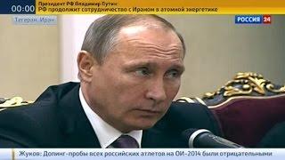 Владимир Путин высоко оценил работу российских военных в Сирии