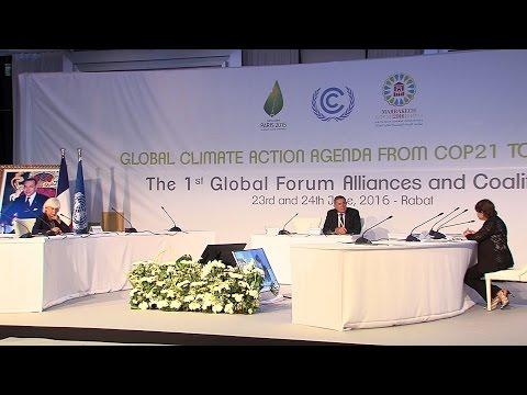 Ouverture à Rabat du 1er Forum mondial des Alliances et Coalitions