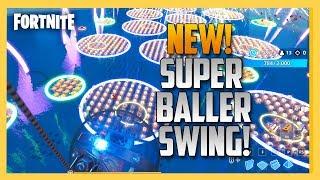 NEW! Super Baller Swing in Fortnite Creative! | Swiftor