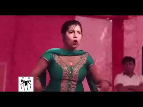 Latest Sapna Live Stage Dance Video  Marungi Dhunge Man Man Ke