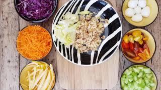 Salade Tentation bowl Healthy