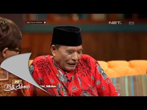 Download Ini Talk Show - Pemimpin Muda Part 1/3 - Sule dibuat kesel oleh Pak Haji Bolot HD Mp4 3GP Video and MP3