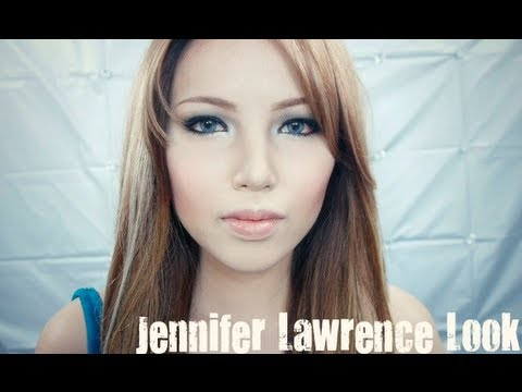 jennifer - Got a handful of requests to do Jennifer Lawrence Transformation. It was really cool trying to mimic her Hooded Eye lids and High Cheeks bones. She really is...