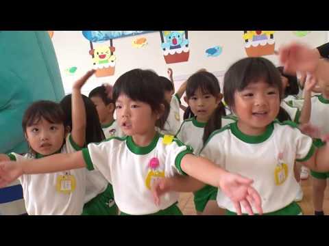 日本全国でレッツ☆うみダンス in 綾瀬中央幼稚園のみなさん