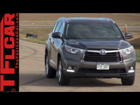Watch 2015 Toyota Highlander Hybrid Review: How Far Will It Go Online