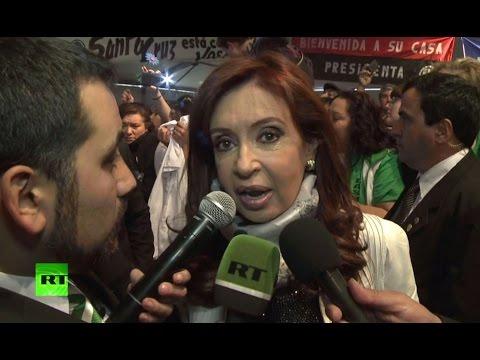 Глава Аргентины: Включение RT в телесеть Аргентины