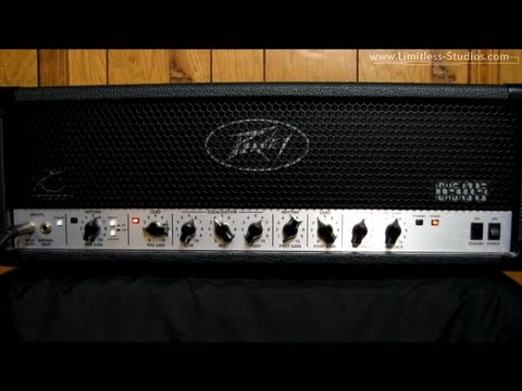Peavey - Signal Chain: Epiphone Les Paul Custom EMG 81( Bridge) / 60(Neck) ----- Ibanez TS9 ----- Peavey 6505 ----- Mesa Boogie Stiletto (Traditional Rectifier) Cab w...