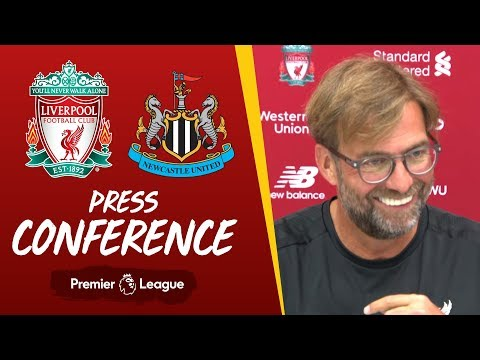 Video: Jürgen Klopp's pre-match press conference | Newcastle Utd
