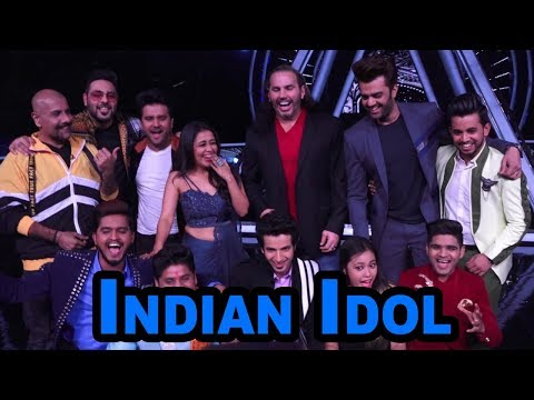Badshah & Matt Hardy at Indian Idol Session 10 for Shoot Special Episode