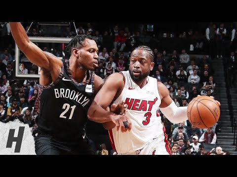 Miami Heat vs Brooklyn Nets - Full Game Highlights | April 10, 2019 | 2018-19 NBA Season