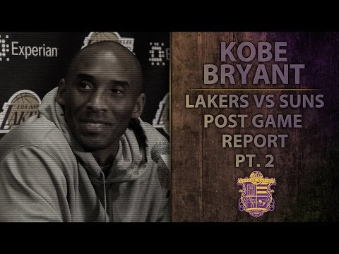 Video: Lakers vs Suns: Kobe Bryant Talks About Ankle Issues, Heating Pad During Games